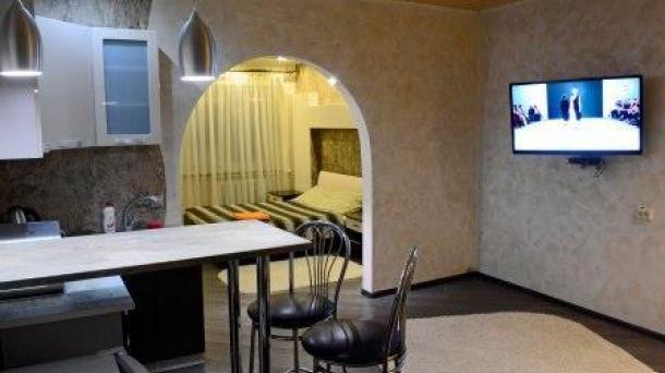 Квартира-студия с частной парковкой