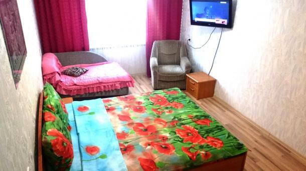 1 комнатная квартира на сутки в Бресте Набережная Скорины, Wi-fi, Б/Нал